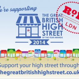 Great British High Street Awards 2014 submission [PRESS RELEASE]