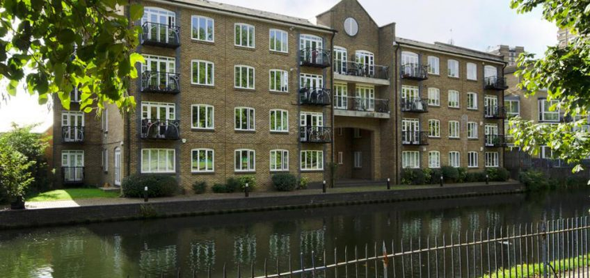 Empire Wharf  housing development in Bow, East London