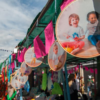 Roman Road Festival 2014 wares for sale