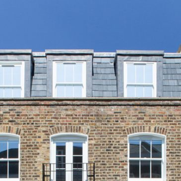 Consultation for mansard roof in Bow conservation areas