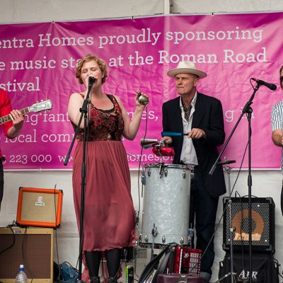 Roman Road Festival 2014 band