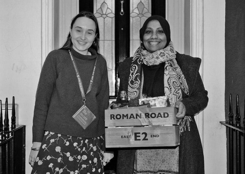 Roman Road E2 Valentine's Hamper Winner