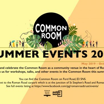 Summer Events in the Common Room