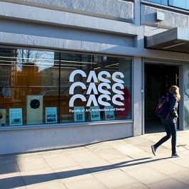Cass School of Art, Design and Architecture, entrance