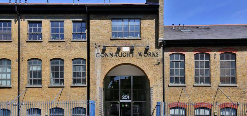 Connaught Works Old Ford housing development in Bow, East London