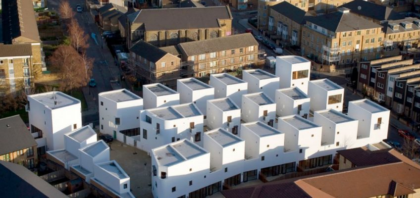 Donnybrooke Estate housing development in Bow, East London