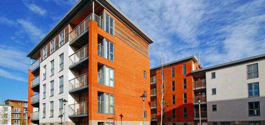 EastSide Tredegar Road housing development in Bow, East London