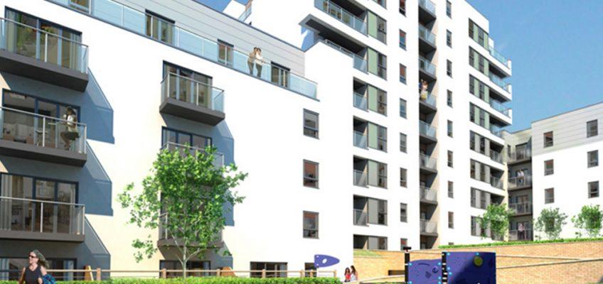 Essence E3 housing development in Bow, East London