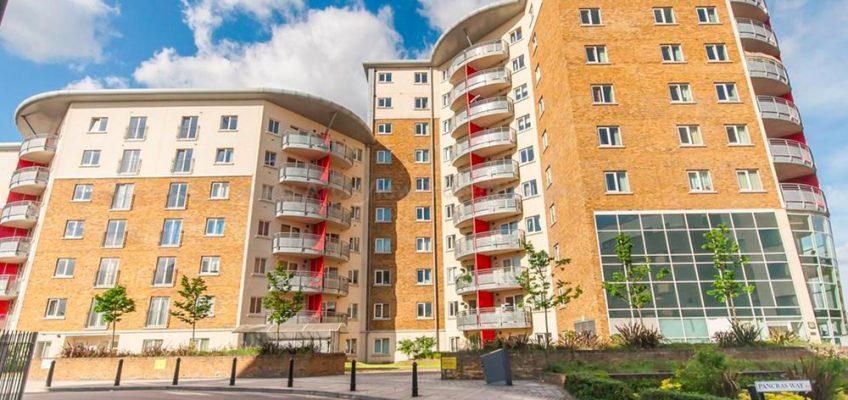 Heart of Bow housing development in Bow, East London