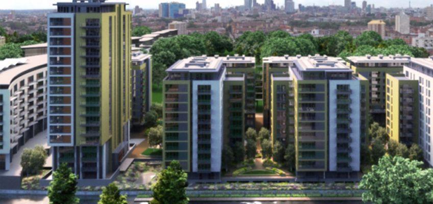 Sutton Wharf Bow housing development