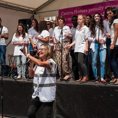 Roman Road Festival 2014 chors