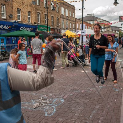 Roman Road Festival 2014 skipping