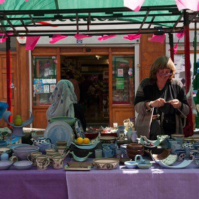 Roman Road Festival 2014 local ceramics