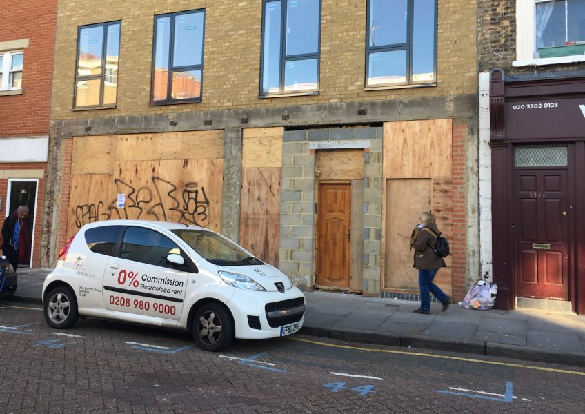 Large commercial unit to let on Roman Road, in Bow East London
