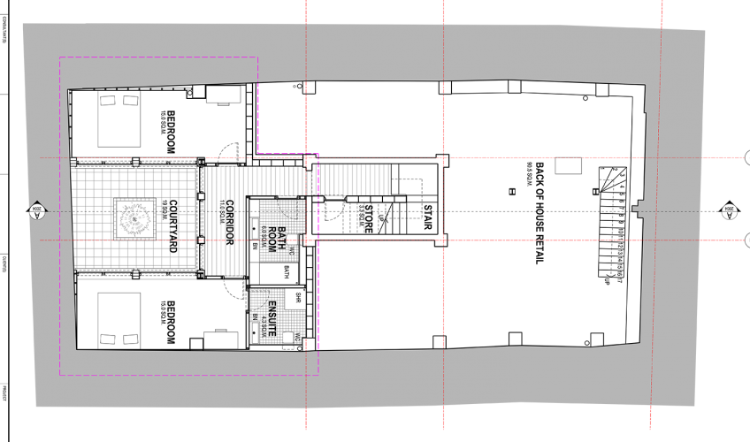 PA/17/01821 Proposed Basement Plan 538-540 Roman Road