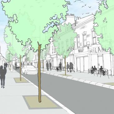 Liveable Neighbourhoods funding from TfL for Roman Road and Bow