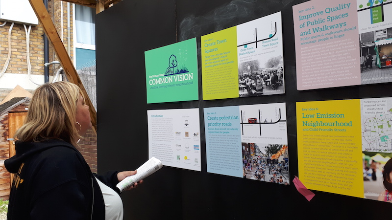 Local people provide feedback on Roman Road Common Vision