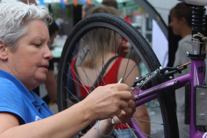 Dr Bike with Tower Hamlets Wheelers