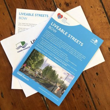 Liveable Streets Bow: Here's our research